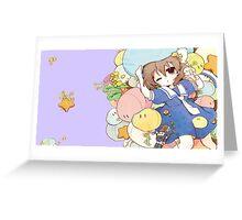 Dango Garden - Clannad Greeting Card