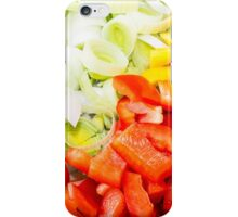 Fresh Vegetables iPhone Case/Skin
