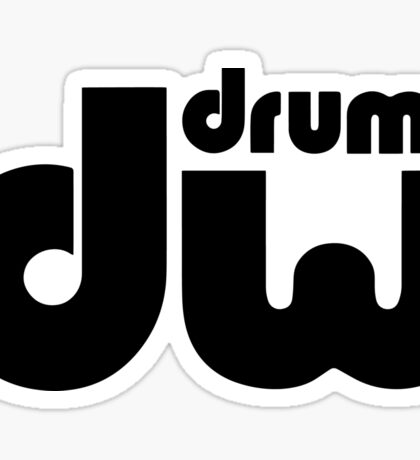 DW Drums. Sticker