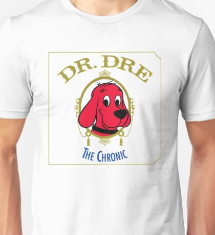 Clifford the Big red dog 2001 Dr Dre the Chronic  Unisex T-Shirt