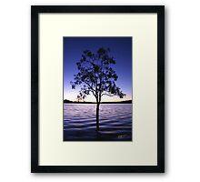 Blue Dusk Framed Print