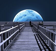 Once in a blue moon by Donuts