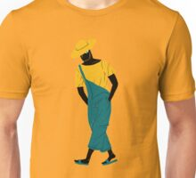 100 Days. Farmer guy. Unisex T-Shirt
