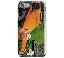 Leaf Lounging iPhone Case/Skin