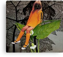 Leaf Lounging Canvas Print