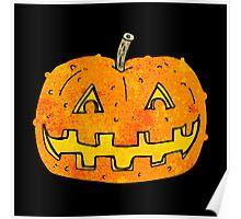 cartoon pumpkin Poster