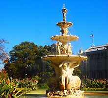 The Gardens of Melbourne Vic Australia by Margaret Morgan (Watkins)