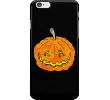 spooky pumpkin iPhone Case/Skin