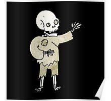 spooky skeleton Poster