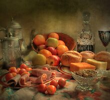 Lunch !  ( still life ) by Irene  Burdell