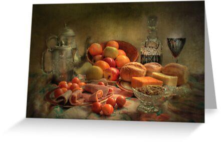 Lunch !  ( still life ) by Irene  Burdell