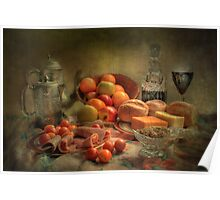 Lunch !  ( still life ) Poster