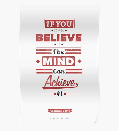 The Mind Can Achieve It Poster