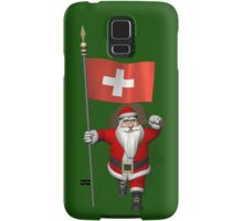 Santa Claus Visiting The Swiss Confederation Samsung Galaxy Case/Skin