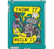 Think Build Robot iPad Case/Skin