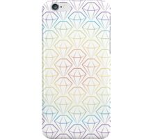 Rainbow Emeralds pattern iPhone Case/Skin