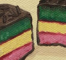 Rainbow Marzipan Cookie Painting Sticker