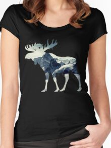 Mountain Moose Women's Fitted Scoop T-Shirt