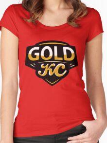 GoldKC Logo Women's Fitted Scoop T-Shirt