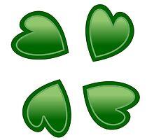 4chan Clover Logo by xBigRedx