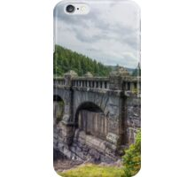 Lake Vyrnwy Dam iPhone Case/Skin