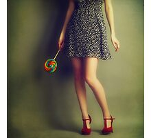 Red shoes #2 Photographic Print