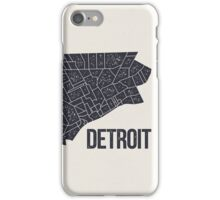 Detroit Roads iPhone Case/Skin