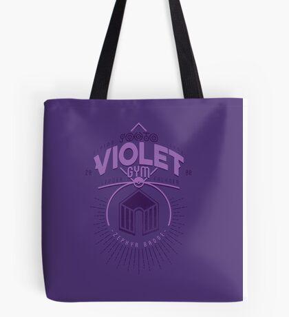 Violet Gym Tote Bag