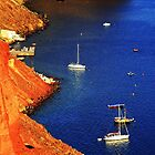 Colors of Santorini by fotowagner