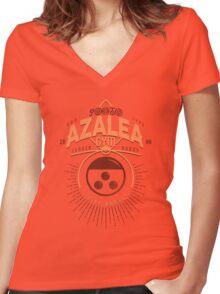 Azalea Gym Women's Fitted V-Neck T-Shirt