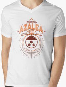 Azalea Gym Mens V-Neck T-Shirt