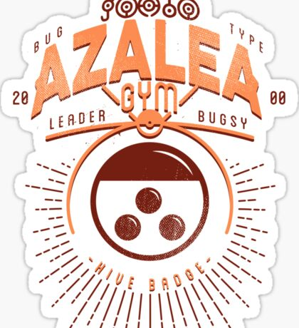 Azalea Gym Sticker
