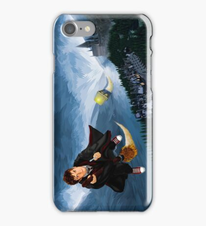 time and space traveller lost in the wizard World iPhone Case/Skin