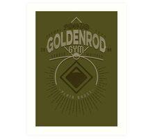 Goldenrod Gym Art Print