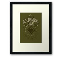 Goldenrod Gym Framed Print