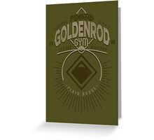 Goldenrod Gym Greeting Card