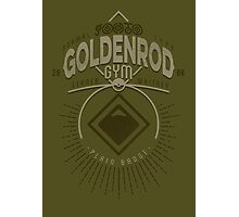 Goldenrod Gym Photographic Print