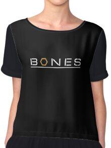 Bones Chiffon Top