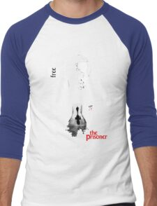 The Prisoner Men's Baseball ¾ T-Shirt