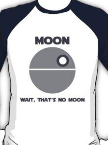 Death Star - Moon T-Shirt