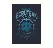 Ecruteak Gym Art Print