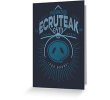 Ecruteak Gym Greeting Card