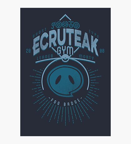 Ecruteak Gym Photographic Print