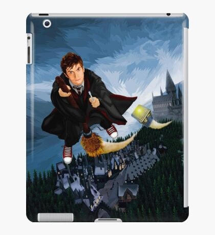 time and space traveller lost in the wizard World iPad Case/Skin