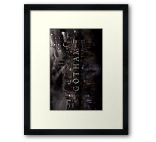Gotham(TV Show) Framed Print