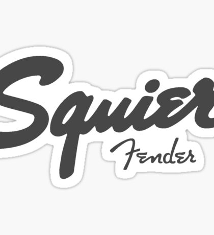 Squier (Fender) Sticker
