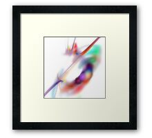 Tenderness #2 // Apophysial Abstract 071111 Framed Print