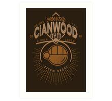 Cianwood Gym Art Print