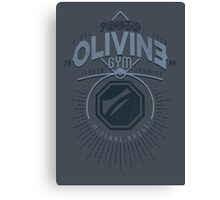 Olivine Gym Canvas Print