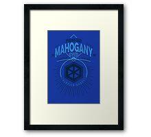 Mahogany Gym Framed Print